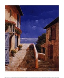 Villa by the Sea Prints by Gilles Archambault