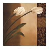 Tulip Pair Prints by Emmanuel Cometa