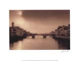 Ponti Santa Trinita, Florence Posters by Jamie Cook