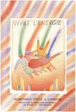 Vivre L'energie Collectable Print by Jean-Michel Folon