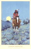 The Outlier Print by Frederic Remington