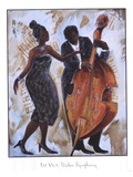 Water Symphony Poster von Tat Vila