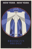 Brooklyn Bridge Centennial Collectable Print by Robert Indiana
