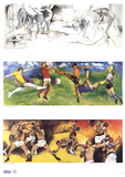 Olympic Events Prints by Renato Guttuso