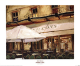 Paris Cafe Posters by Keith Wicks