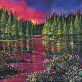 Halcyon Spring Limited Edition Print on Canvas by Ford Smith