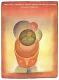 Third World Congress Of Nuclear Medicine and Biology (WFNMB) Paris Collectable Print by Jean-Michel Folon