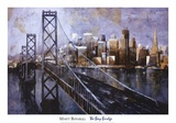 The Bay Bridge Print by Marti Bofarull