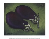 Two Eggplants Prints by Will Rafuse