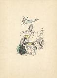 King David (blue) Premium Edition by Marc Chagall