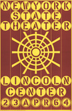 New York State Theater, Lincoln Center Serigraph by Robert Indiana