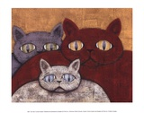 Sun Cats Prints by Kevin Snyder