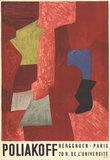 Berggruen - Paris Collectable Print by Serge Poliakoff