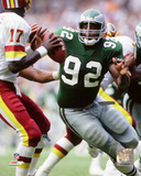 Reggie White 1988 Action Photo