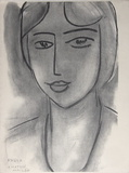 Paula Collectable Print by Henri Matisse