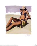 San Tropez II Posters by Brenda K. Bredvik