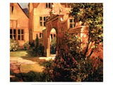 Sunlit Courtyard Prints by Philip Craig
