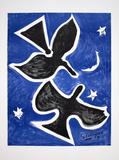 Two Birds Samlertryk af Georges Braque