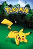Pokemon- Pikachu Catch Plakaty