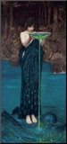 Circe Invidiosa, 1892 Mounted Print by John William Waterhouse