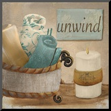 Unwind Mounted Print by  Hakimipour-ritter