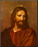 Christ at Thirty-Three Mounted Print by Heinrich Hofmann