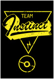 Team Instinct Distressed Rally Marker Posters
