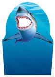 Shark Stand-In Silhouettes découpées en carton