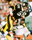 Jack Lambert Super Bowl X Action Photo