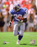 Barry Sanders 1997 Action Photo