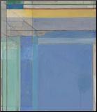 Ocean Park 79, 1975 Montert trykk av Richard Diebenkorn