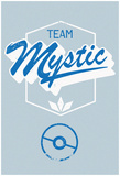 Team Mystic Distressed Rally Marker Plakat