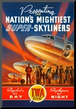 Super Skyliners Mounted Print by Kerne Erickson