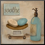Soothe Mounted Print by  Hakimipour-ritter