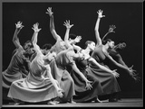 Alvin Ailey American Dance Theater Performers Mounted Print