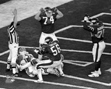 Lawrence Taylor Super Bowl XXI Action Photo