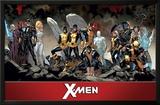 X-Men- Past Present & Future Teams Posters