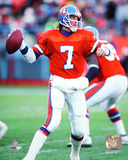 John Elway 1990 Action Photo