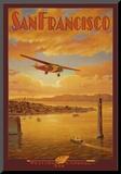 Western Air Express, San Francisco, California Mounted Print by Kerne Erickson