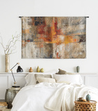 Silver and Amber Crop Wall Tapestry - Large *Exclusive* Wall Tapestry