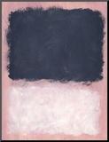 Untitled, 1967 Opspændt tryk af Mark Rothko