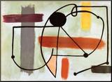 Torso Montert trykk av Joan Miró