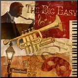 The Big Easy Mounted Print by Conrad Knutsen
