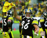 Hines Ward 2001 AFC Divisional Playoff Game Action Photo