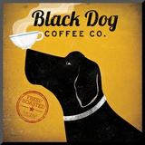 Black Dog Coffee Co. Mounted Print by Ryan Fowler