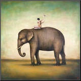 Eternal Companions Mounted Print by Duy Huynh