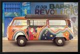 VW Camper Barrio Revolucion Prints