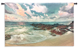 Peace On The Sand Wall Tapestry - Large *Exclusive* Wall Tapestry