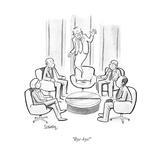 """Bye-bye!"" - Cartoon Regular Giclee Print by Benjamin Schwartz"