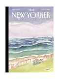 The New Yorker Cover - August 29, 2016 Regular Giclee Print by Jean-Jacques Sempé